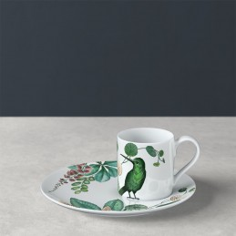 Villeroy & Boch Avarua Espresso Cup and Saucer Set 6 Pcs