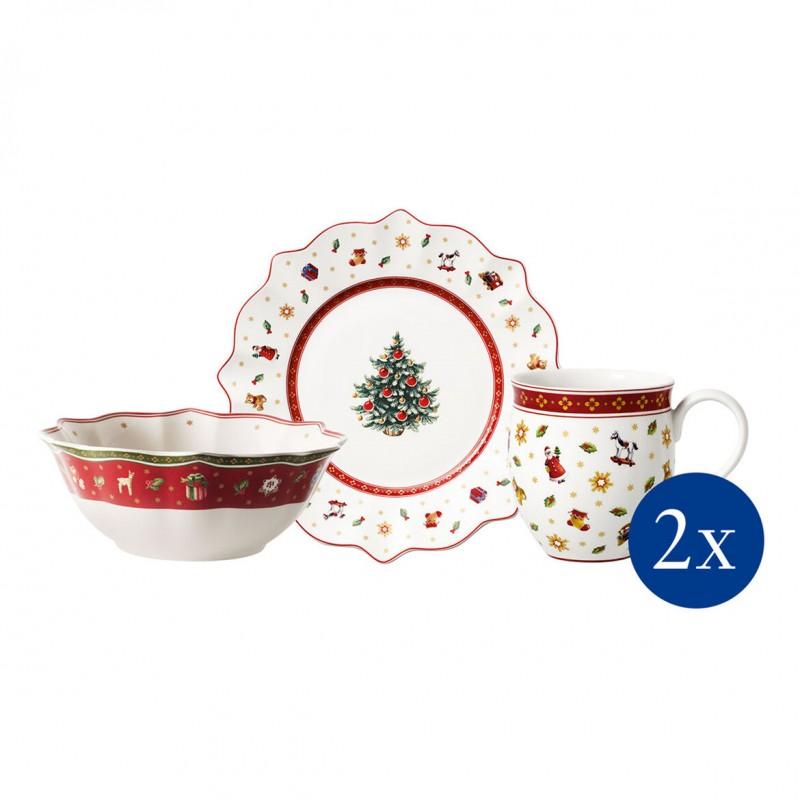 Villeroy & Boch Toy's Delight Breakfast Set 6 Pcs White