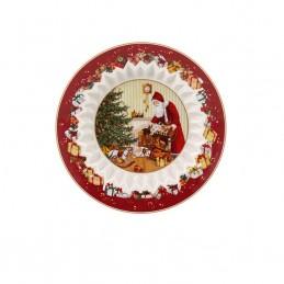 Villeroy & Boch Toy's Fantasy Bowl 25 cm Santa brings gifts