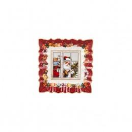 Villeroy & Boch Toy's Fantasy Square Bowl 23x23 cm 2021 Santa