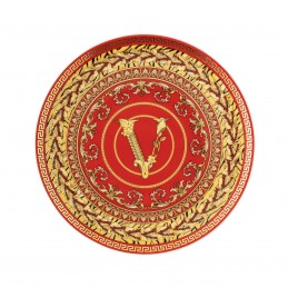 Versace Rosenthal Virtus Holiday Plate 17 cm