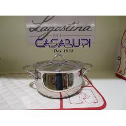Lagostina Melodia Casseruola fonda con coperchio 16 cm
